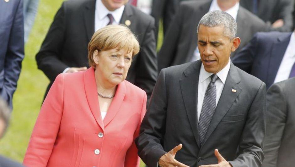 ABD Ulusal Güvenlik Ajansı, Almanya Başbakanı Angela Merkel