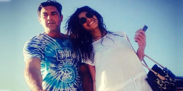 Burak Hakkı ve sevgilisi Datça'da tatilde