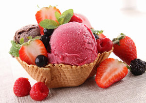 Ramazan'ın en sağlıklı tatlısı dondurma
