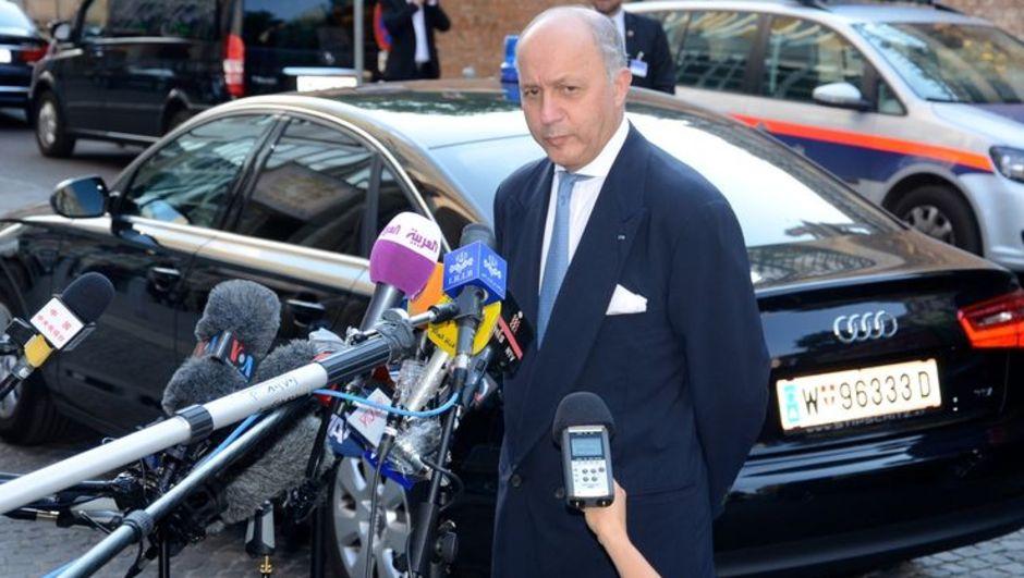 Fransa Dışişleri Bakanı Laurant Fabius, İran nükleer müzakereleri