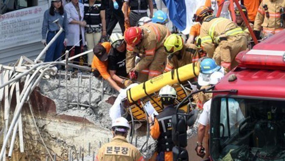 Güney Kore'de bulunan bir kimya fabrikasında gerçekleşen patlamada en az altı işçi yaşamını kaybetti