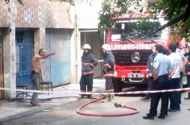 Nazım Toker kadıköy marangoz dükkanı yangın