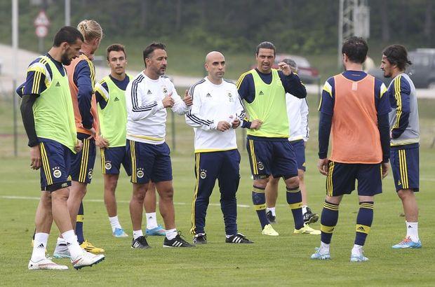 Fenerbahçe antremanını Vitor Pereira yönetti