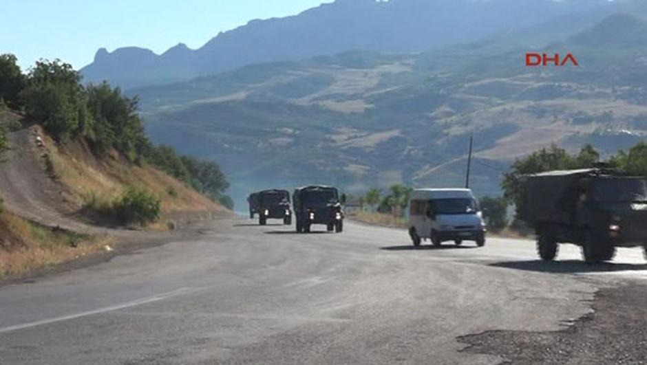 4'üncü Komando Tugay Komutanlığı Tunceli asker Suriye sınırı