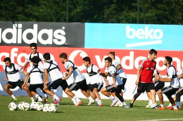 Beşiktaş yeni sezon hazırlıklarına Nevzat Demir Tesislerinde devam ediyor