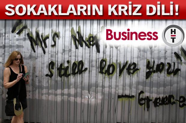 Yunanistan, Yunanistan ekonomik krizi duvar yazıları