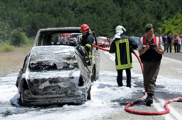 Çanakkale trafik kazası otomobil minibüs ölü yaralı