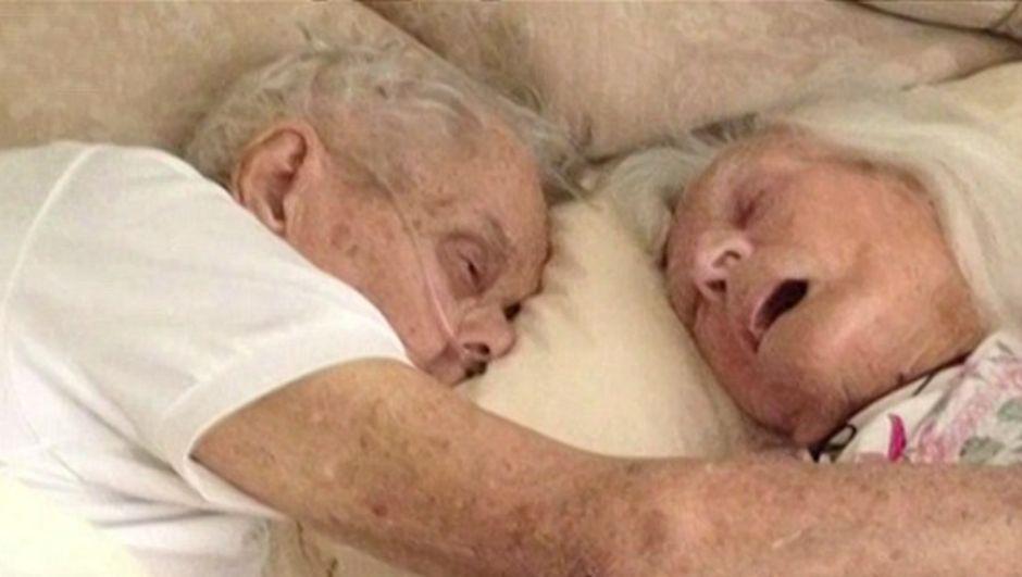 75 yıldır birlikte olan çiftin tek isteği birlikte ölebilmekti, bu istekleri gerçek oldu