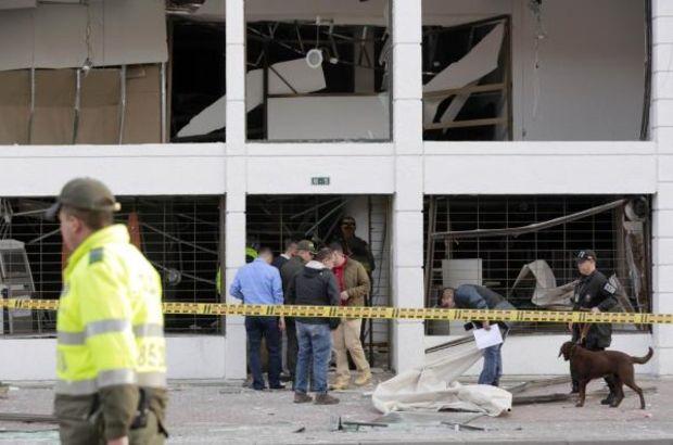 Kolombiya'nın başkenti Bogota'da düzenlenen iki bombalı saldırıda 8 kişi yaralandı