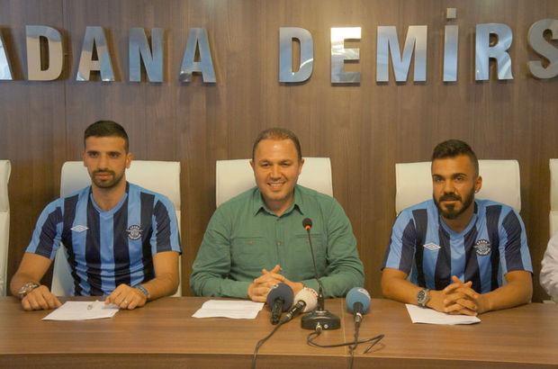 Adana Demirspor Ploiesti ekibinden Victor Astefei