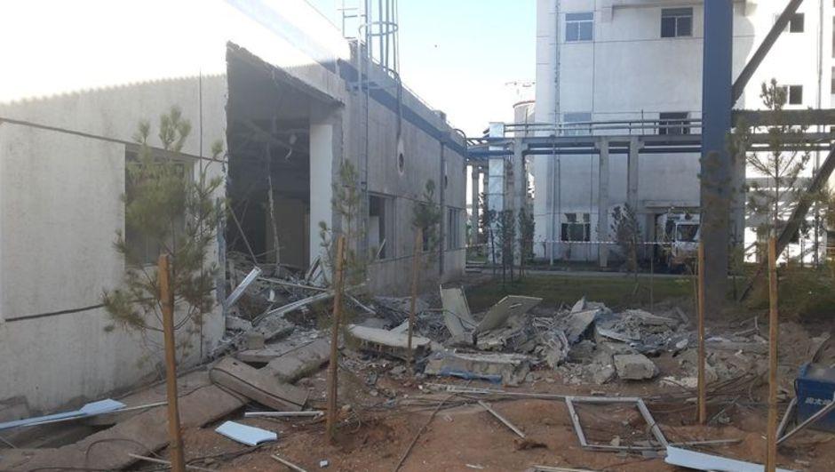 Şırnak, Silopi Santrali Kömür Besleme Merkezi, patlama