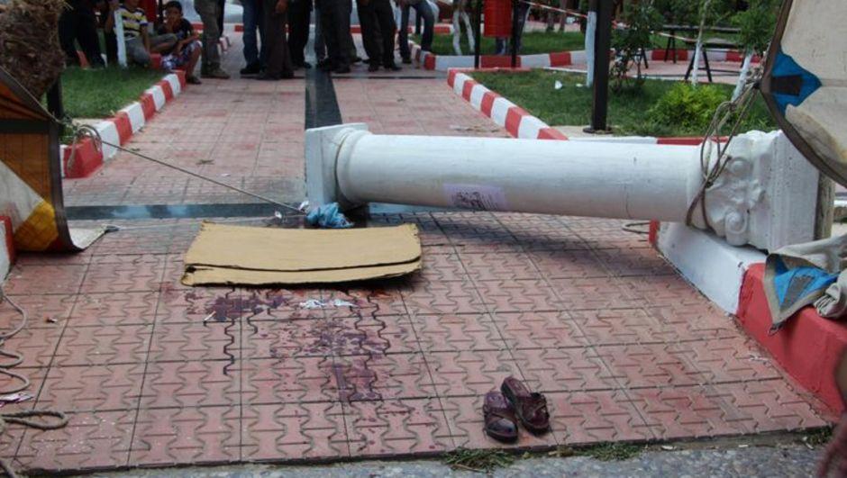 İzmir, Kınık, Pazar yerinde kaza