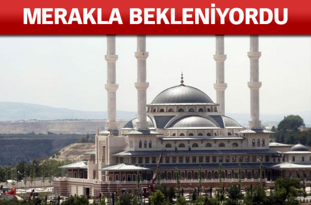 Cumhurbaşkanı Erdoğan cami açılışı