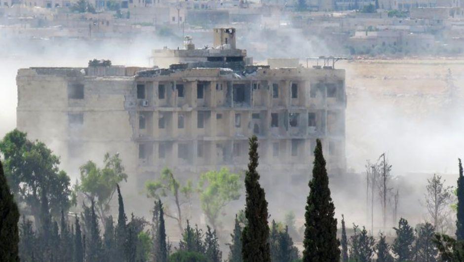 Suriye, Halep, iç savaş