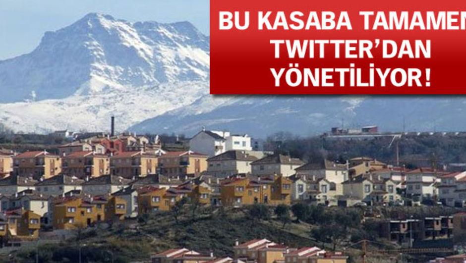 Jun kasabası, Twitter