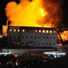 Yağ fabrikasında korkutan yangın: 2 yaralı
