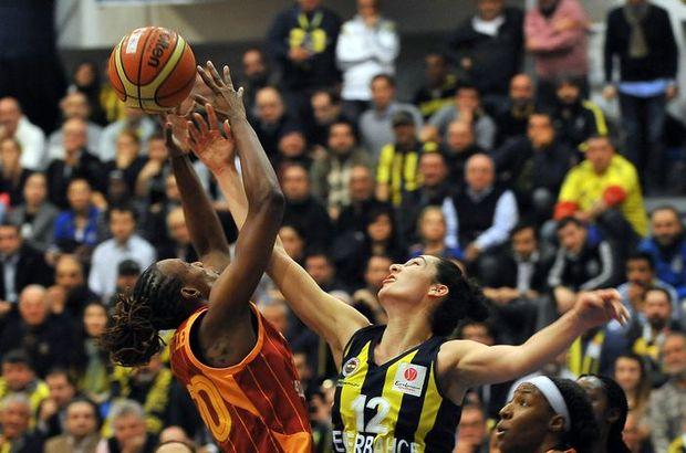 Fenerbahçe ile Galatasaray FIBA Kadınlar Avrupa Ligi