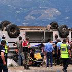 Tokat'ta Suriyelileri taşıyan midibüs devrildi: 1 ölü, 20 yaralı