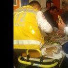 Ambulansta lahmacun ziyafeti tartışma yarattı