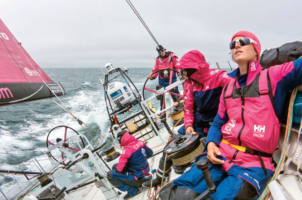 Okyanus yarışının tek kadın takımı