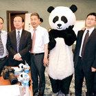 Pandalar için İstanbul'a geldiler