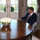 Başbakan Davutoğlu, Milli Savunma Bakanı Gönül'ü kabul etti