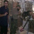 Suriye'de çekim yapan TRT ekibi kurşunların hedefi oldu