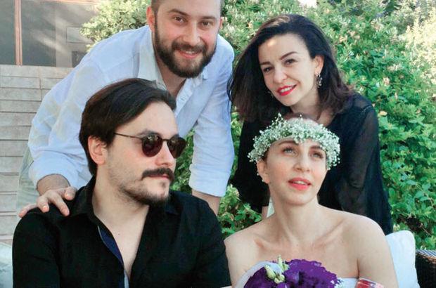 Sertab Erener Emre Kula ile Seferihisar'da gizlice evlendi