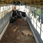 Otobüsü eve dönüştürdü...