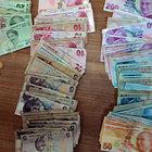 Hatay'da dilencinin üzerinden 5 bin 249 lira çıktı