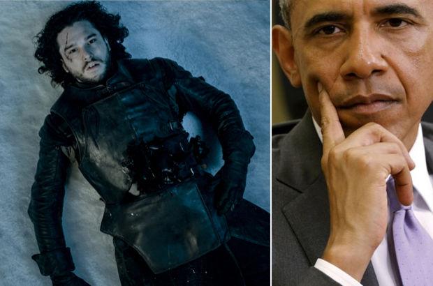 Barack Obama'nın Jon Snow merakı