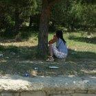 Edirne'de ormanlık alanda fuhuş yapan kadına gözaltı