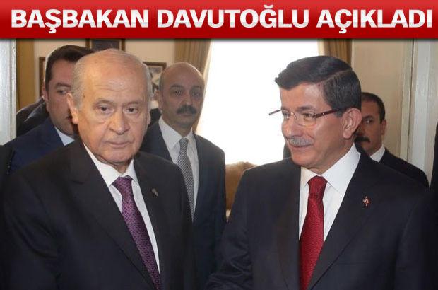 MHP'den koalisyona ret!