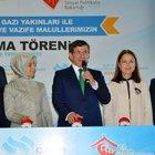 Davutoğlu, Haliç Kongre Merkezi'nde konuştu