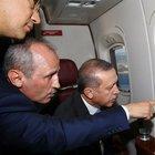 Cumhurbaşkanı Erdoğan dev projeleri böyle inceledi