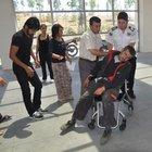 Karaman'daki kazada baba kızını kurtaramadı
