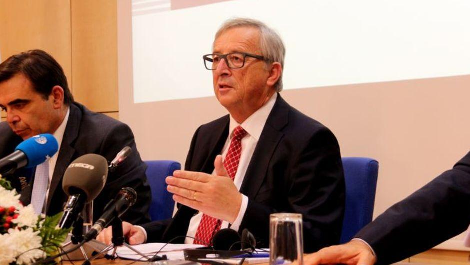 Avrupa Birliği Komisyon Başkanı,Jean Claude Juncker,Kıbrıs.çözüm,