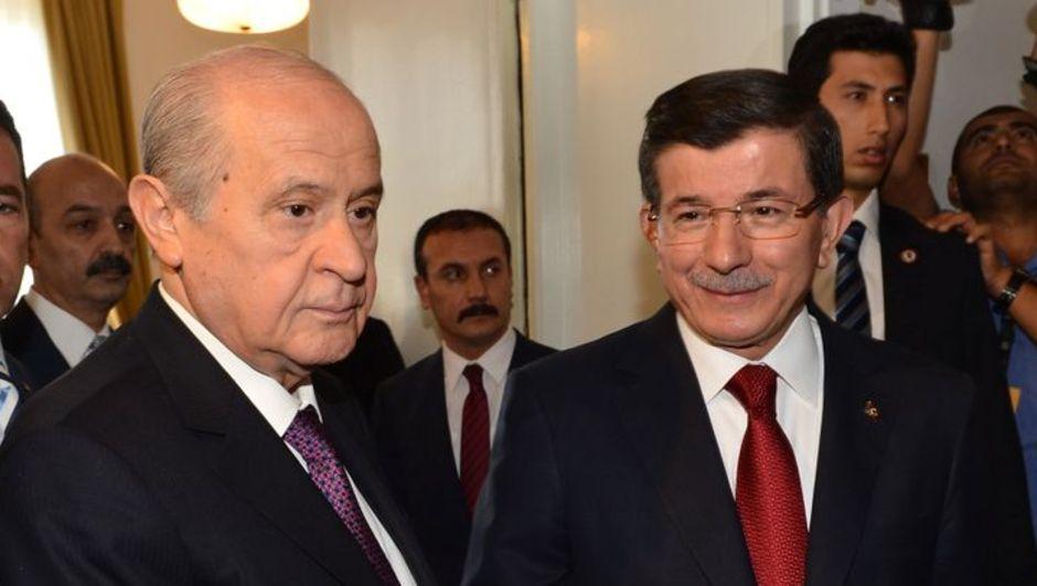 MHP, Koalisyon görüşmesi