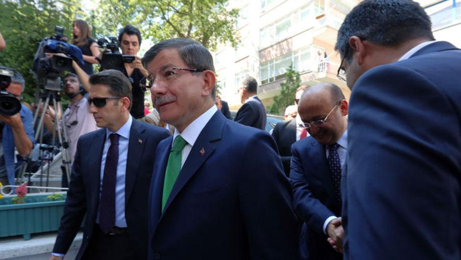 bayram namazı, açıklama Ahmet Davutoğlu
