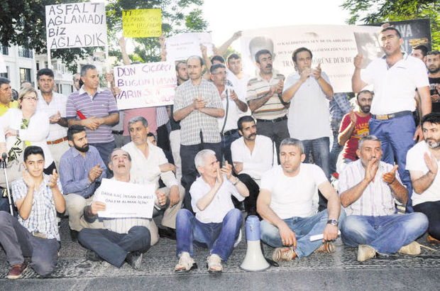 Bağdat Caddesi'ndeki ölümlü kazalara protesto