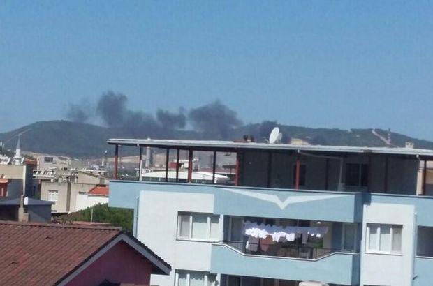 İzmir  AliağaTüpraş Rafinerisi yangın
