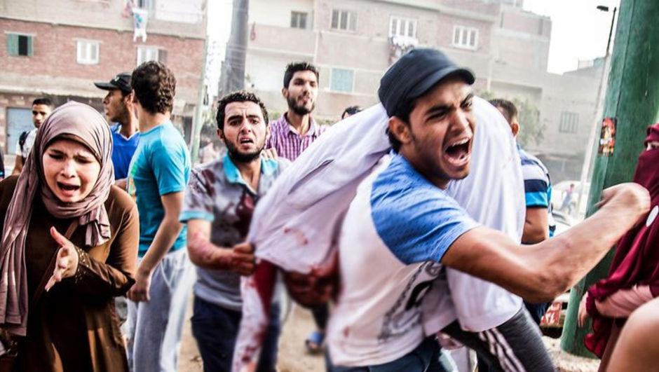 mısır Giza gösteri Nahiye güvenlik güçleri müdahale ölü