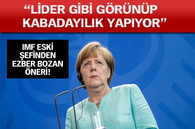 Almanya, Yunanistan, IMF, Euro Birliği, kabadayı, Merkel, Çipras, George Soros
