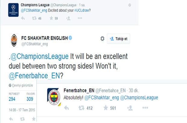 Fenerbahçe Shaktar Donetsk