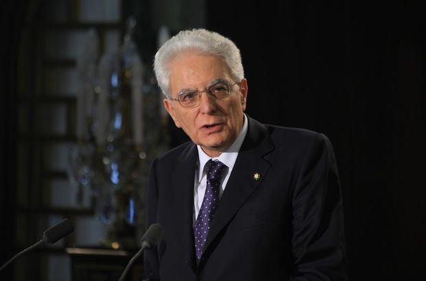 İtalya Cumhurbaşkanı Sergio Mattarella