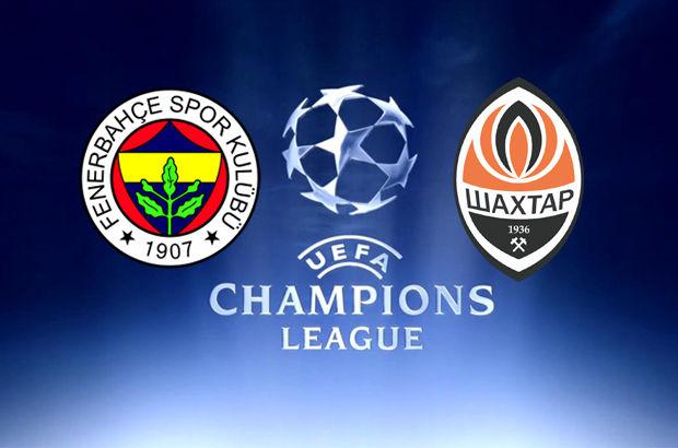 Fenerbahçe ile Shakhtar Donetsk
