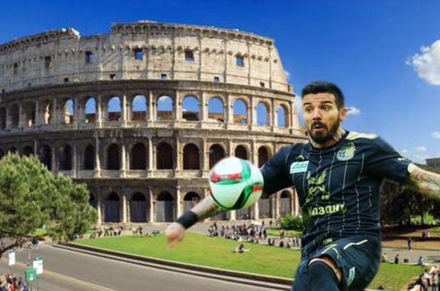 Bulgar futbolcu Blagoy Georgiev, Roma'nın dünyaca ünlü yapısı Kolezyum'un taşlarına zarar vermekten polis tarafından gözaltına alındı
