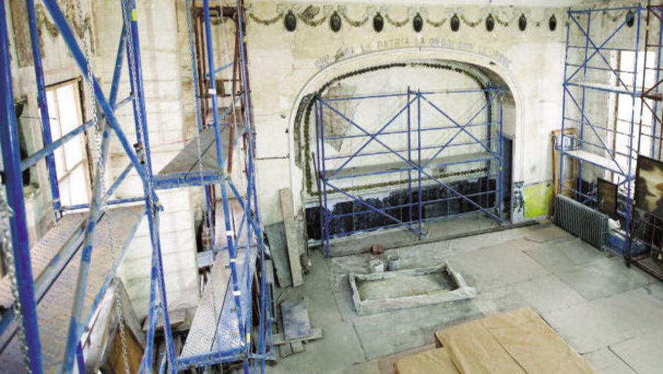 Casa Garibaldi'de restorasyon bitiyor