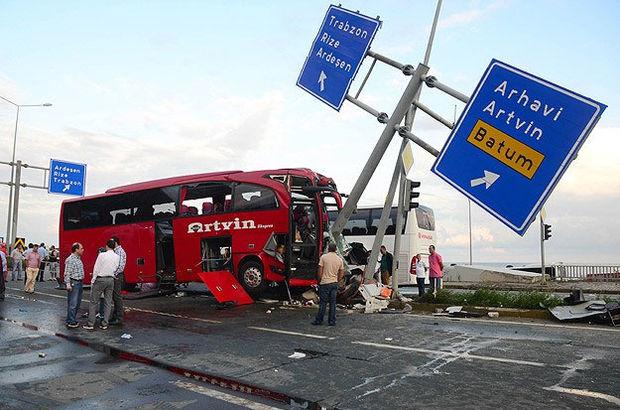 Fehmiye Sürücü rize trafik kazası ölü yaralı