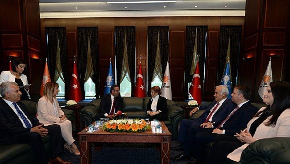 AK Parti hdp bayramlaşma ziyaret bayram ziyareti CHP